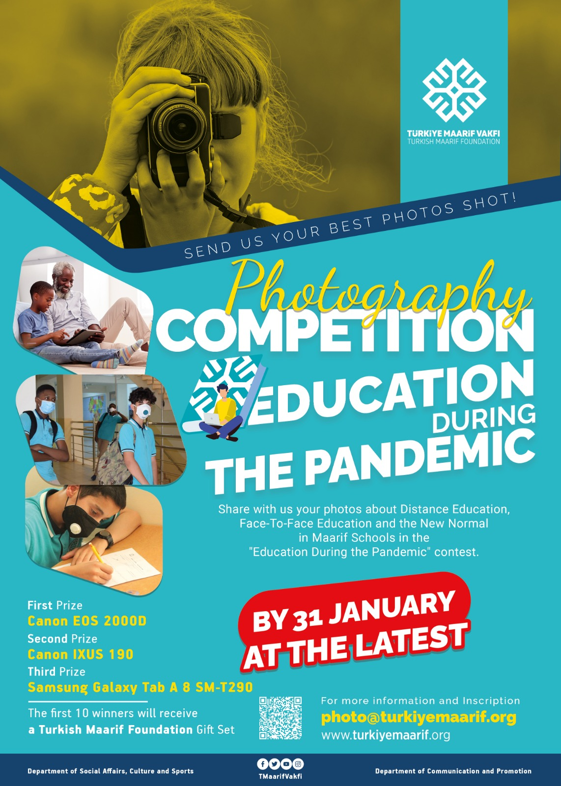 EDUCATION DURING THE PANDEMIC PHOTOGRAPHY COMPETITION