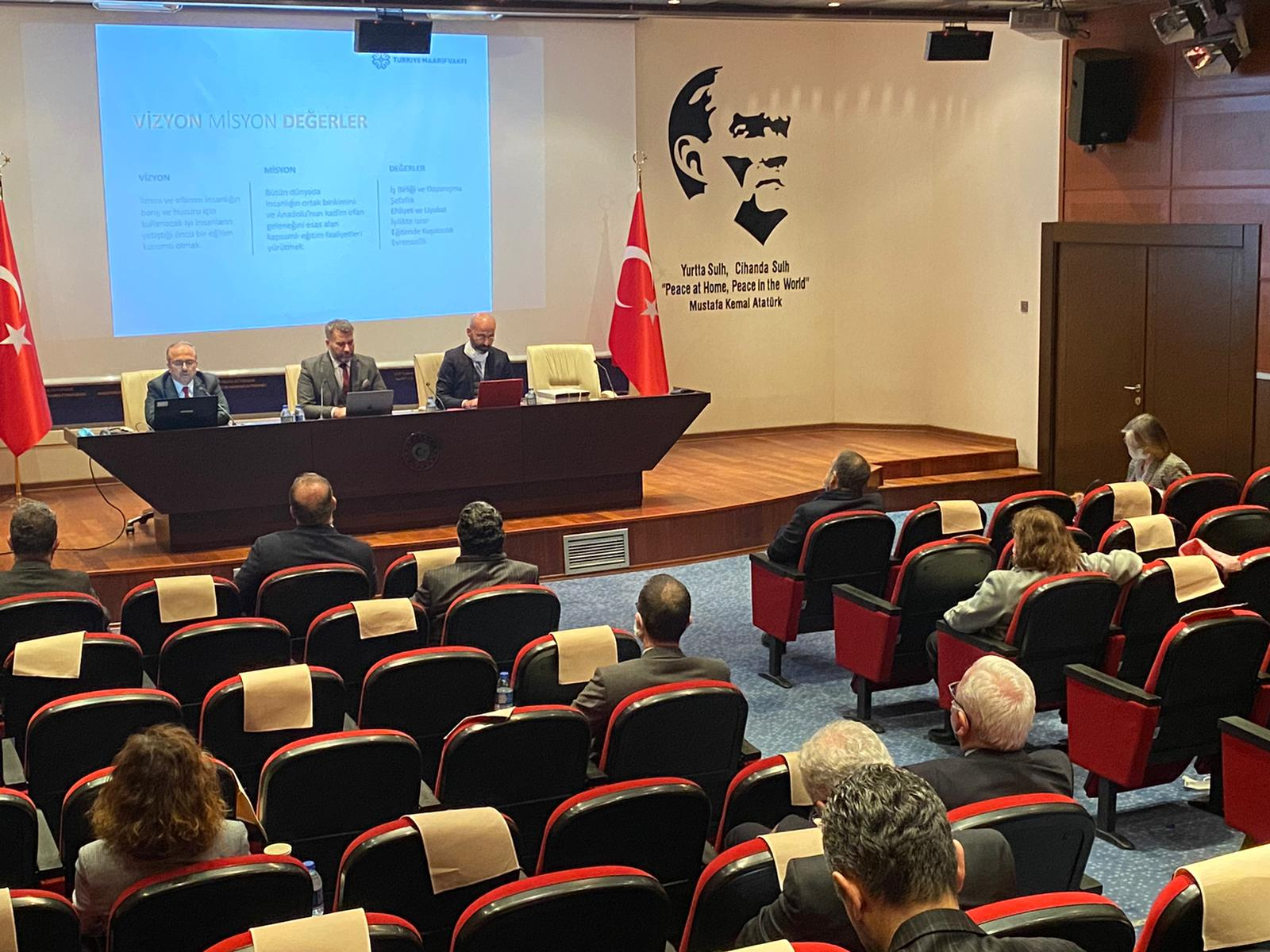 Turkish Maarif Foundation explained at the Academy of Diplomacy of the Ministry of Foreign Affairs
